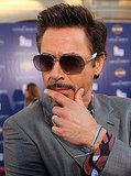 Robert Downey Jr. struck a pensive pose.