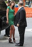 Miranda Kerr and Harvey Weinstein meet in NYC.