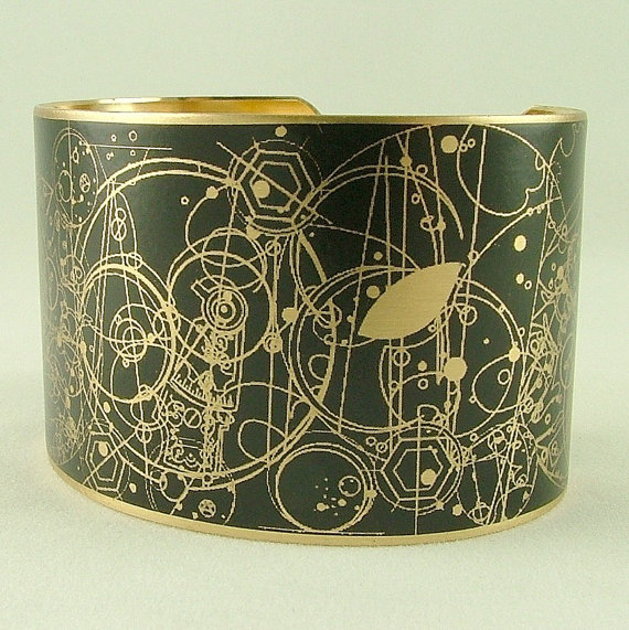 Gallifreyan Time Lord Cuff ($40)