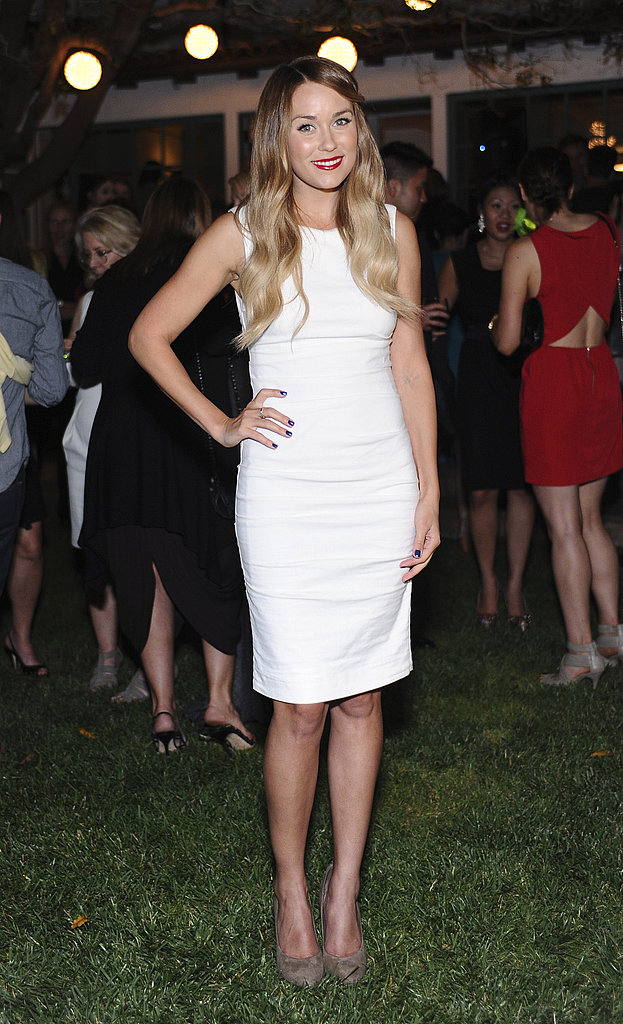 Lauren Conrad at a Lucky magazine event.