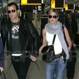 Jennifer Aniston and Justin Theroux Holding Hands in London