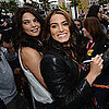 Ashley Greene and Nikki Reed at Comic-Con