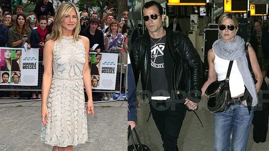 Jennifer Aniston and Justin Theroux's PDA-Filled Trip