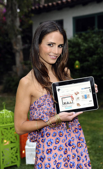 Jordana Brewster at a Lucky magazine event.
