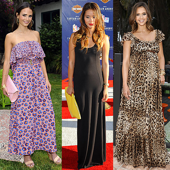 Celebrity Lookbook: Maxi Dresses