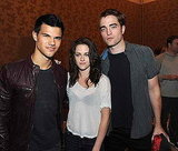 Comic Con BD : New HQ Pic of Robert, Kristen and Taylor