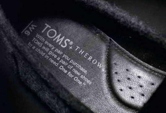 Shop The Row for Toms Cashmere Shoes by Mary-Kate, Ashley Olsen