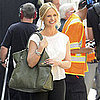 Sarah Michelle Gellar Filming Ringer