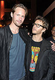 Alexander Skarsgard and Ryan Kwanten partied in San Diego.
