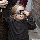 Knox Jolie-Pitt in London.