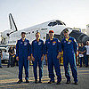 Space Shuttle Atlantis Returns to Earth