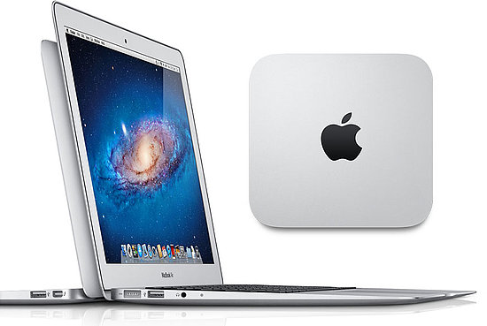 Apple Upgrades MacBook Air, Mini, Does Away With White MacBook