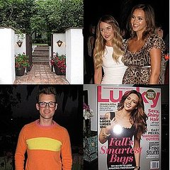 Lucky and Jessica Alba Party Down at a Gorgeous Palisades Pad
