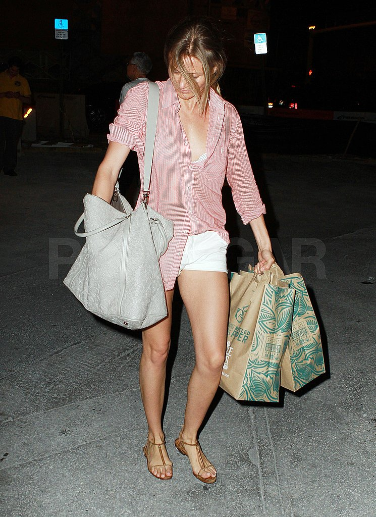 Cameron Diaz carried a Whole Foods grocery bag in Miami.
