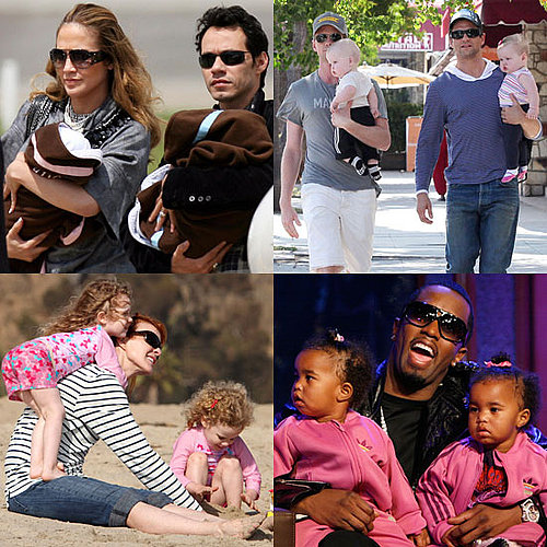 Celebrity Parents of Twins