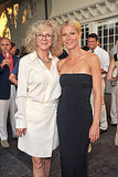 Gwyneth Paltrow and Blythe Danner at the Baby Buggy benefit dinner.