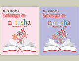 Erin Condren Book Plates ($25)