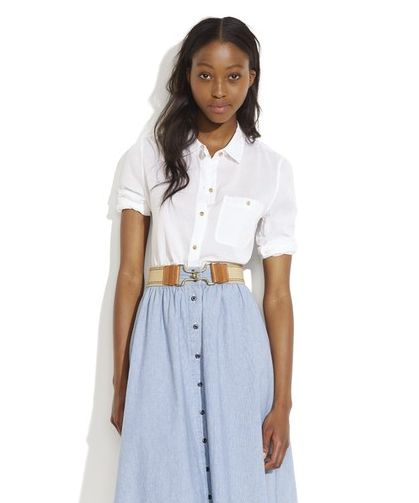 Best Basics: White Button Down