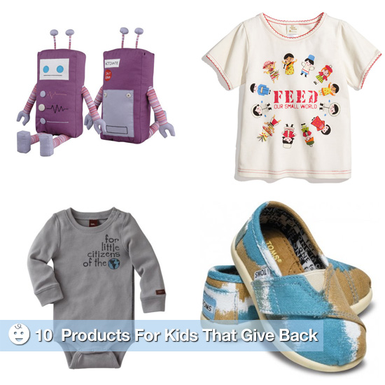 Shop For a Good Cause: 10 Pint-Size Purchases That Give Back