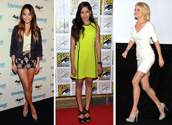 Pictures of Celebrities at 2011 Comic Con including Rachael Taylor, Harry Shum Jnr, Kristen Stewart, Jamie Chung and more