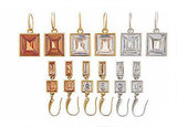 Goldtone Light Topaz Crystal, Goldtone Clear Crystal, or Silvertone Clear Crystal Drop Earrings: $65 per pair; Goldtone Light Topaz Crystal, Goldtone Clear Crystal, or Silvertone Clear Crystal Double Drop Earrings: $65 per pair