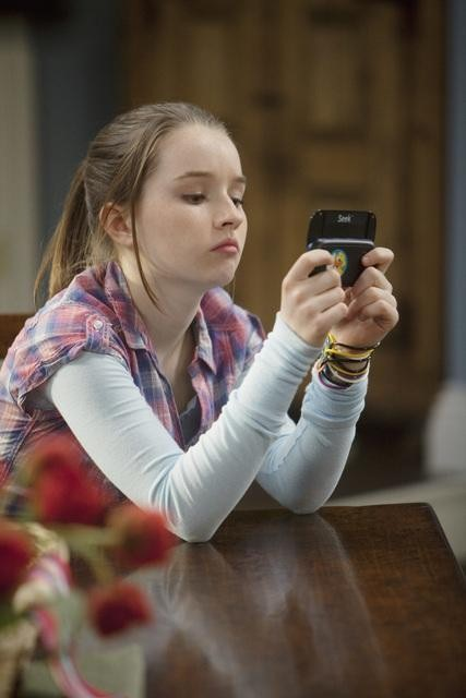 Kaitlyn Dever in ABC's Last Man Standing.  Photo copyright 2011 ABC, Inc.