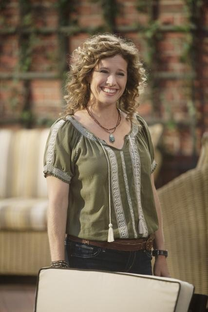 Nancy Travis in ABC's Last Man Standing.  Photo copyright 2011 ABC, Inc.