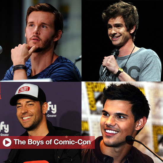 The Boys of Comic-Con: 20 Hot Pictures That'll Make You Wish You'd Been in San Diego