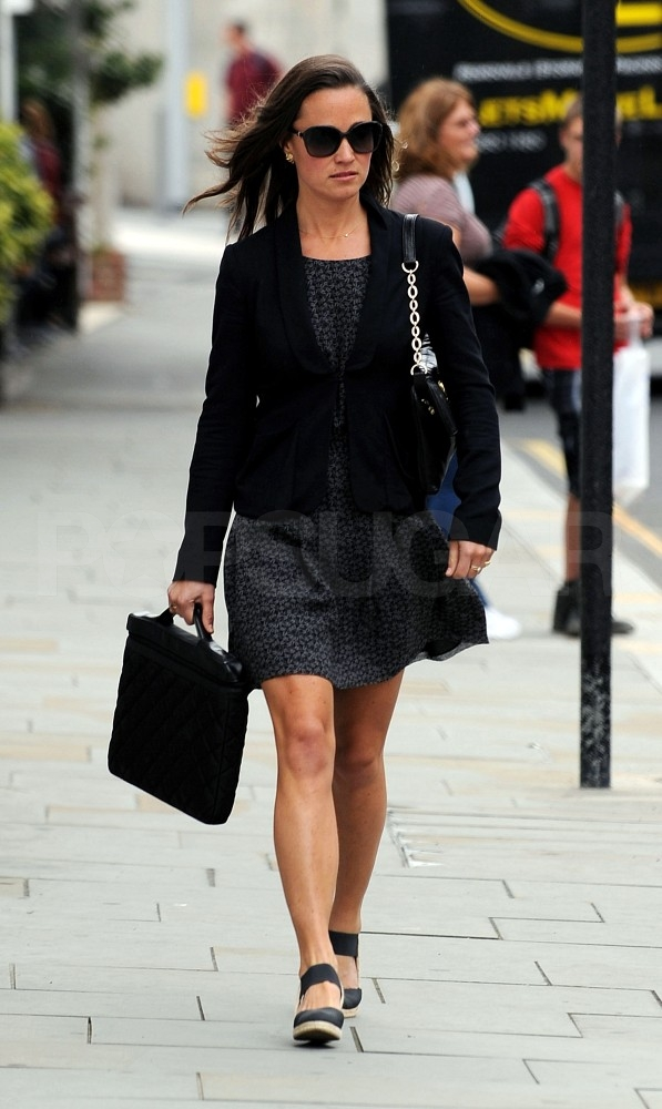Pippa Middleton in a Summer dress.
