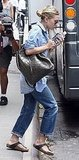 Ashley Olsen leaving the Greenwich Hotel