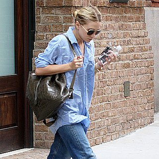 Ashley Olsen Pictures Wearing a The Row Backpack