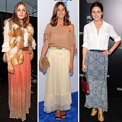 Pictures of Olivia Palermo Style: Olivia Shows Us How to Wear The Maxi Skirt Five Ways