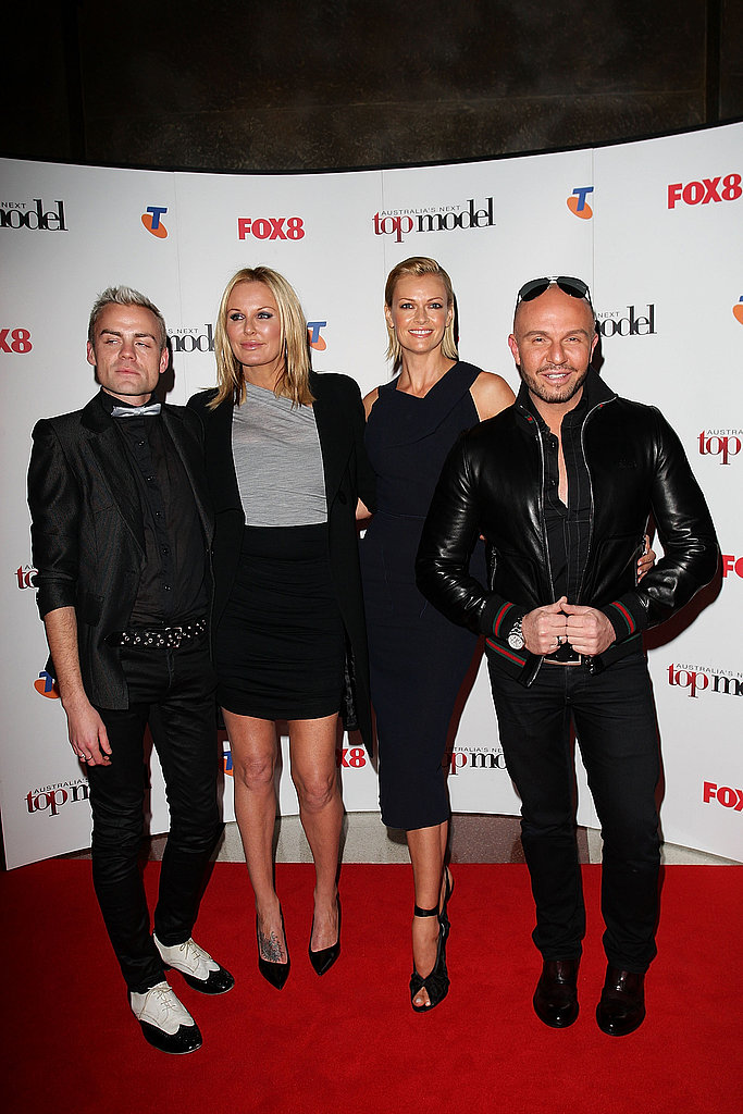 Josh Flinn, Charlotte Dawson, Sarah Murdoch and Alex Perry