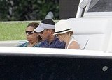 Alex Rodriguez and Cameron Diaz set sail on another boat cruise around Miami.