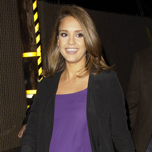 Jessica Alba at Jimmy Kimmell Live! For Spy Kids Pictures