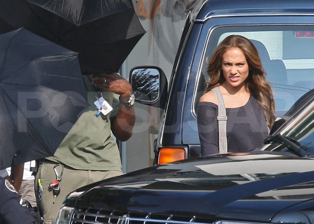Jennifer Lopez stars in What to Expect When You're Expecting.