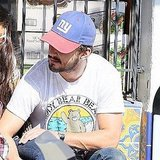 Shia LaBeouf at Cheebo's in LA.