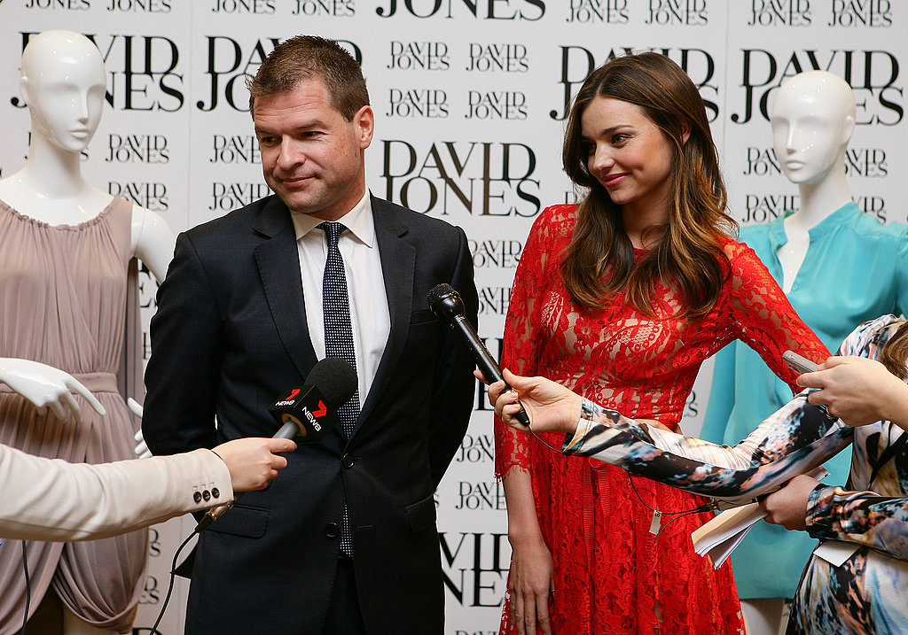 Miranda Kerr and Sacha Laing take questions.
