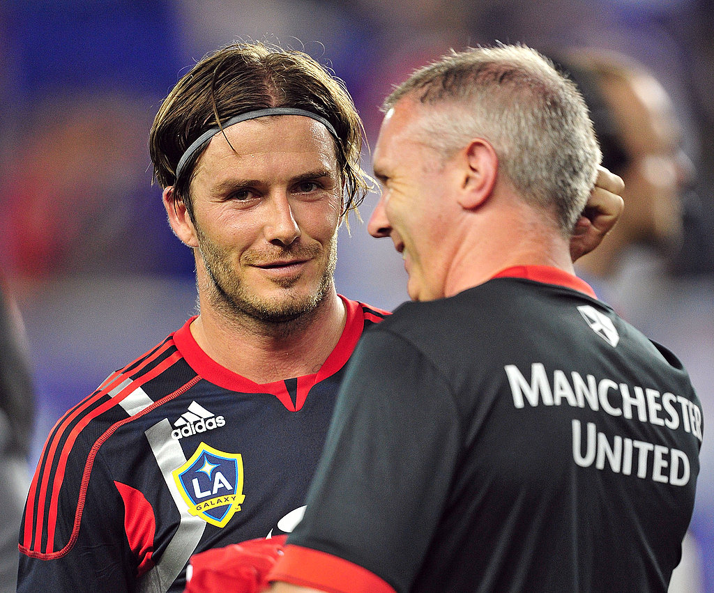 David Beckham Faces Off Against His Old Team Before a Star-Studded Crowd