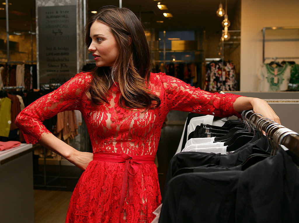 Miranda Kerr announces new brands in David Jones.