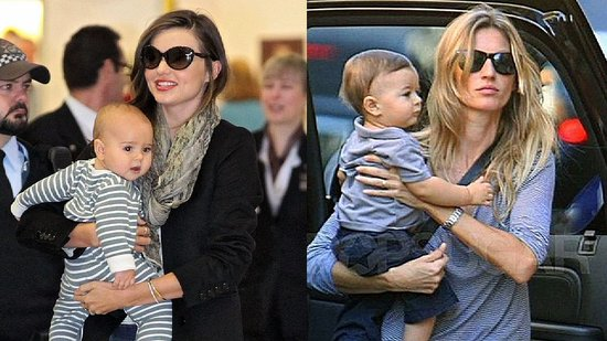 Video: Model Moms Miranda Kerr and Gisele Bundchen Talk Babies