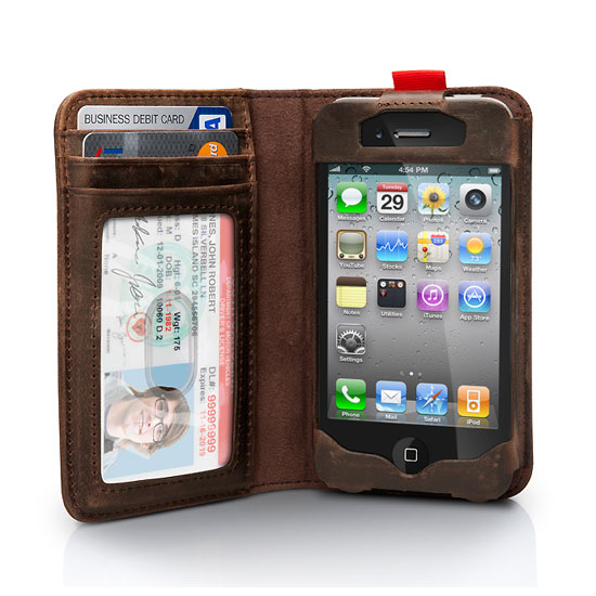 BookBook iPhone Case and Wallet ($60)