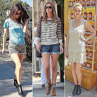 Celebrities Wearing Booties: Get the Look