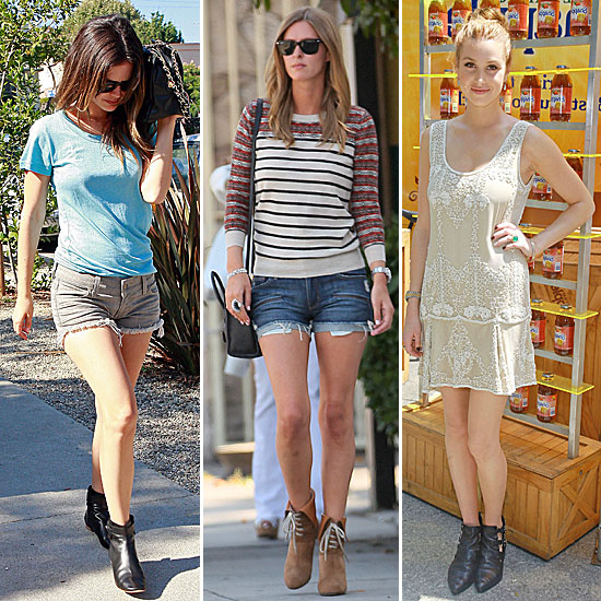 Celebrity Lookbook: Summer Booties