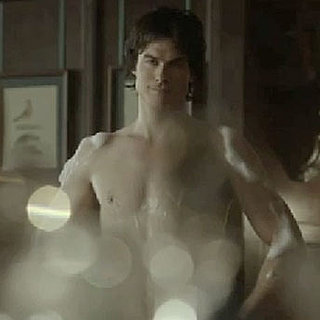 Ian Somerhalder Shirtless in Vampire Diaries Season Three Clip