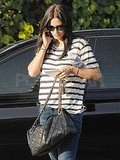 Courteney Cox ran errands in LA.