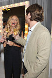 Rachel Zoe toasts Exude with Rodger Berman.