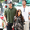 Kim Kardashian and Kris Humphries Pictures in LA
