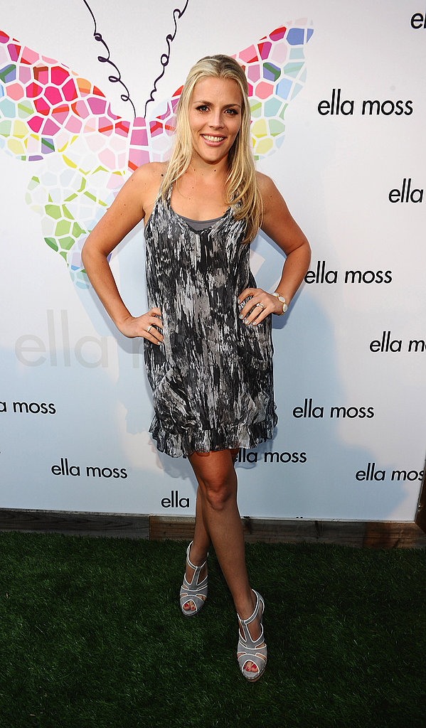 Busy Phillips at an Ella Moss party.