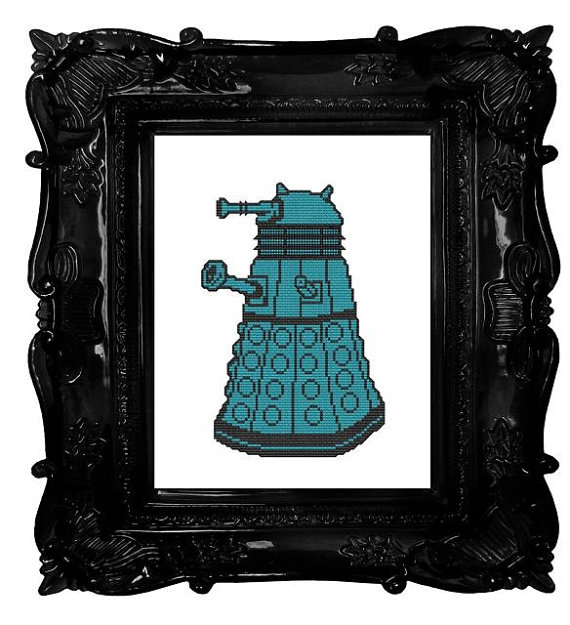 Dalek Cross-Stitch Pattern ($3)